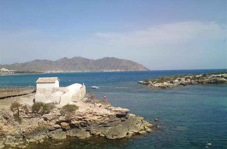 Roman seawater baths at Isla Plana