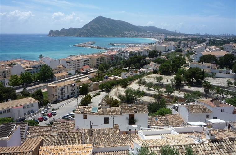 View from Altea old town