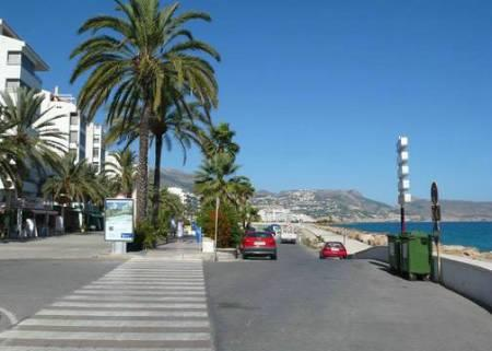 The  seafront  in  Altea