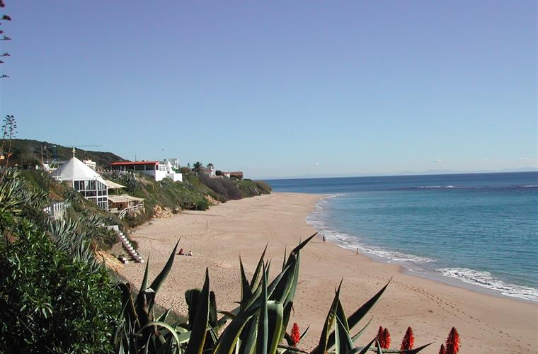 Caños de Meca´s beach in front of the house.