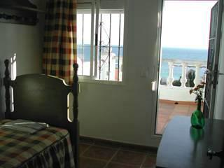 Single bedroom with terrace with amazing sea wiews