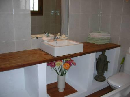 One of the bathrooms (villa)