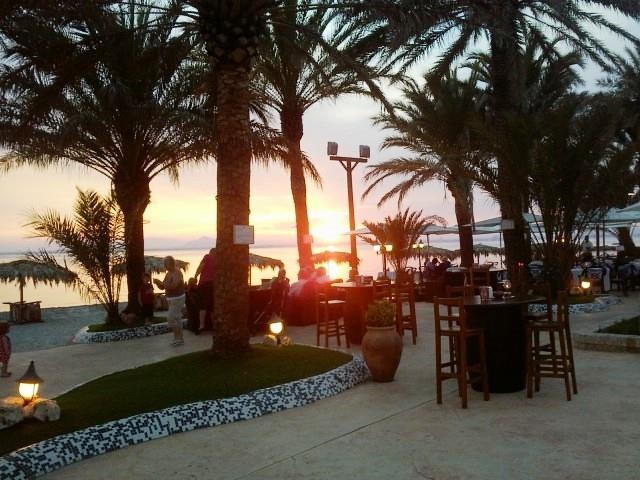 Pieter van Driel restaurant overlooking the Mar Menor