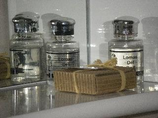 Complimentary toiletries