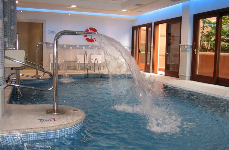 Lovely heated pool in our leisure centre