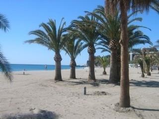 Burriana Beach in front of your holiday apartment