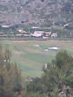 La Sella golf course down below
