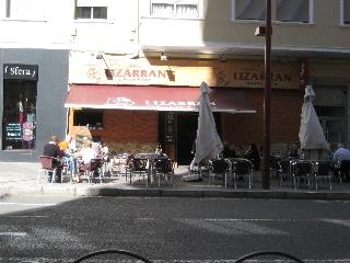 Famous Lizarran Restaurant in Alicante