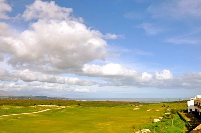 View  - golf, countryside and sea