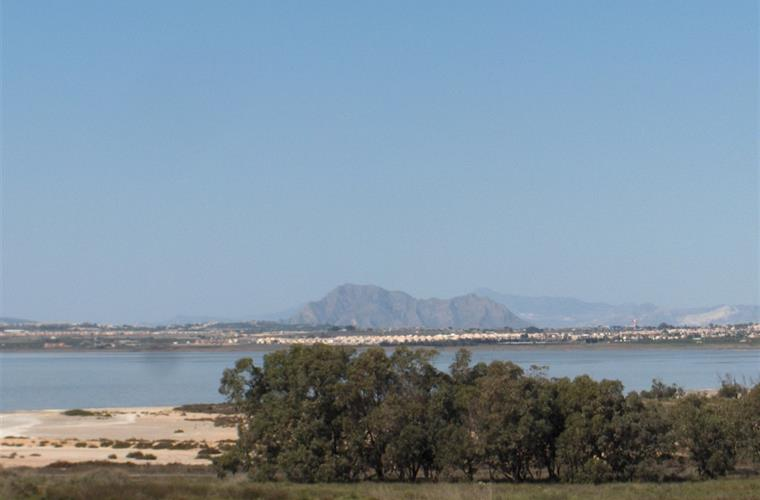 Famous saltlakes between Quesada and Torrevieja