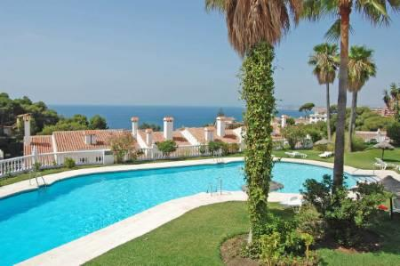 Pool, gardens and stunning views for you