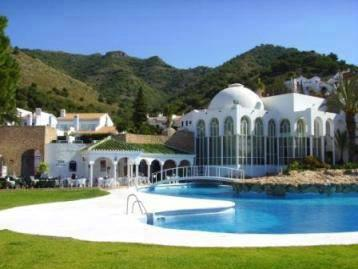 Communal pool of San Juan de Capistrano,Nerja