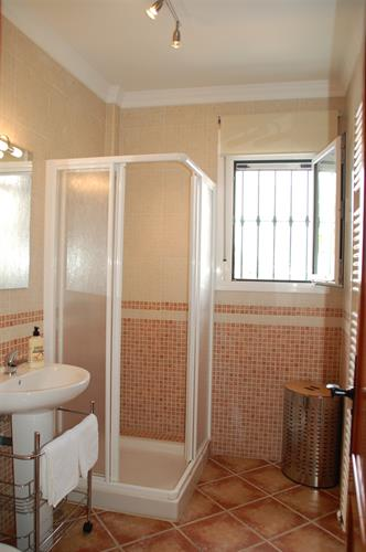 Main shower room.