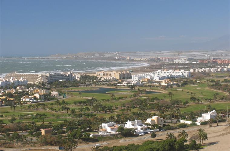 Almerimar and the golf course