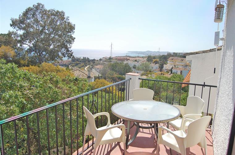 Fantastic seaviews from your sun terrace.