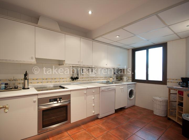 Kitchen Holiday apartment rental Costa del Sol