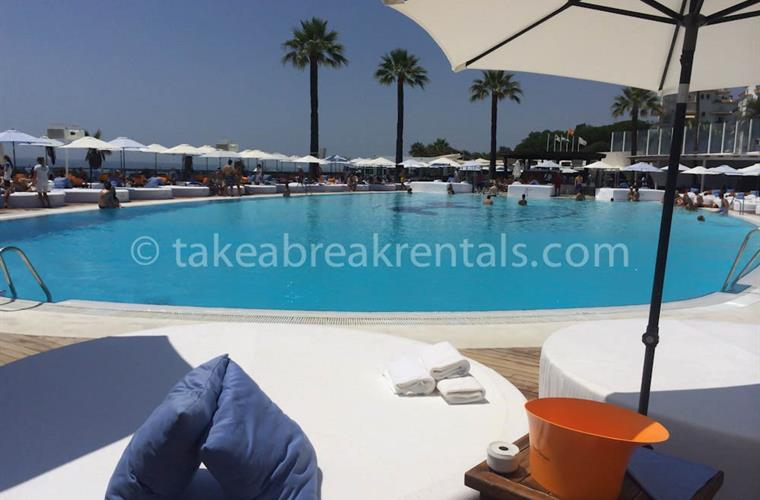 Poolside Ocean Club Puerto Banus holiday rentals