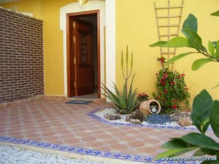 Entrance to to your holiday villa!