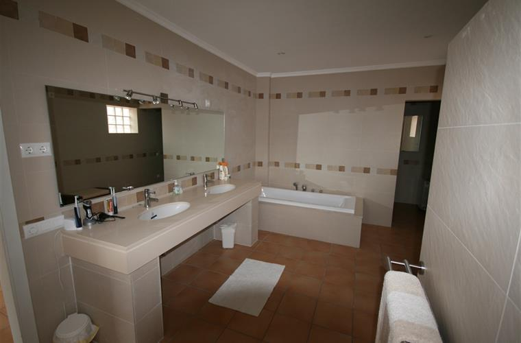 Master bathroom with shower, toilet and bidet