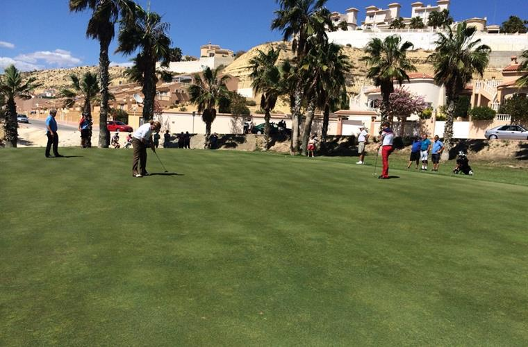 Miguel Ángel Jiménez plays golf at Marquesa golf where the house s