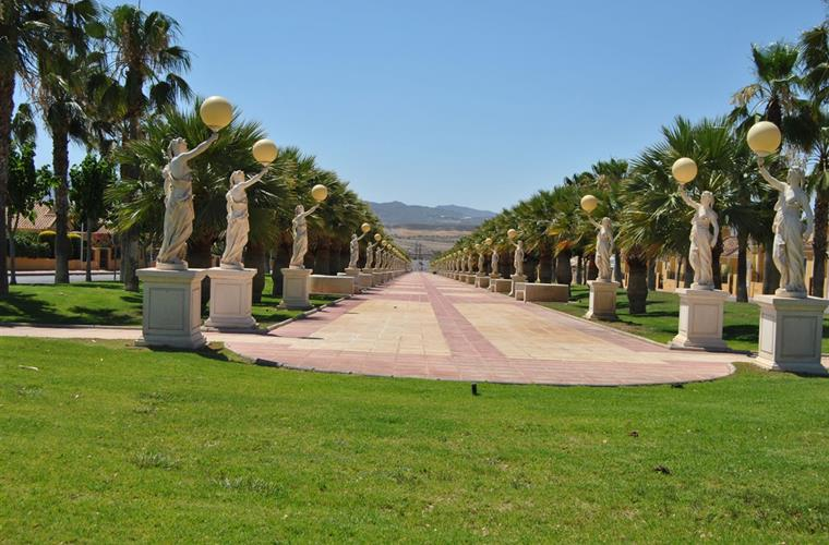 Entrance Mazarron Country Club.
