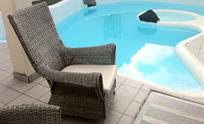 Secluded pool, sparkling clean and heated