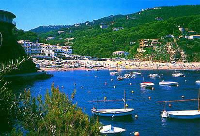 Walk on scenic cliff path to this bay - about half hour from villa
