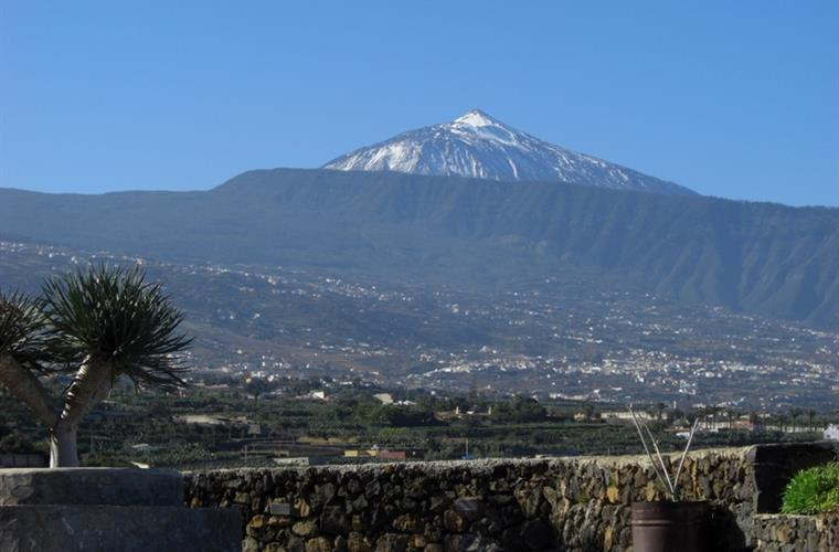 Mount Teide view (from the villa)