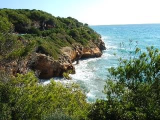 Cliff walk at front of Villa