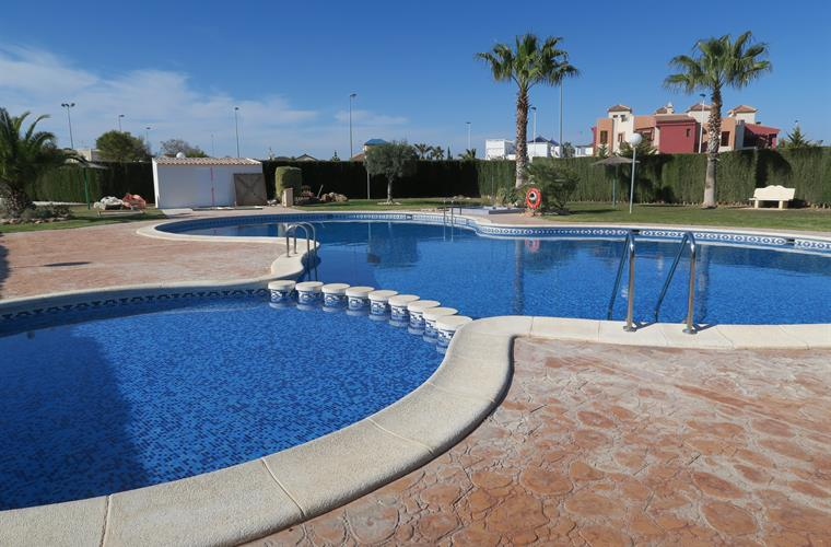 the second of our 2 superb pools, only a 3-4 minute walk away