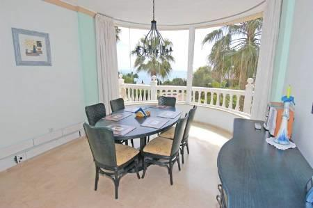 Spectacular views from dining room