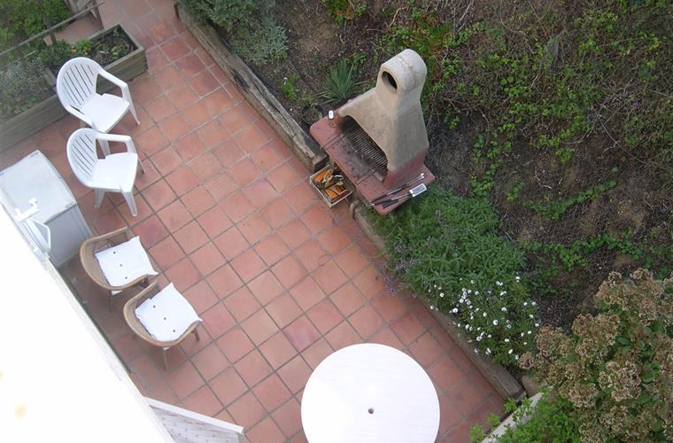 BBQ seen from the roof top solarium