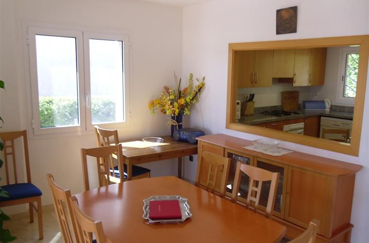 Separate dining area,extendable table-great for special occasiones