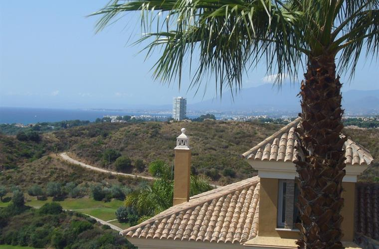 Lovely views from every level of Villa Santa Clara.