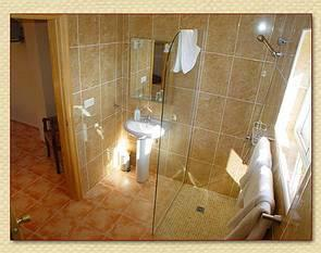 Ensuite shower rooms, Villa Ana