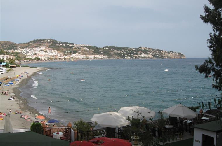 View of the beach