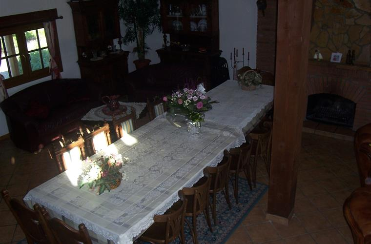 Dining area in Main House