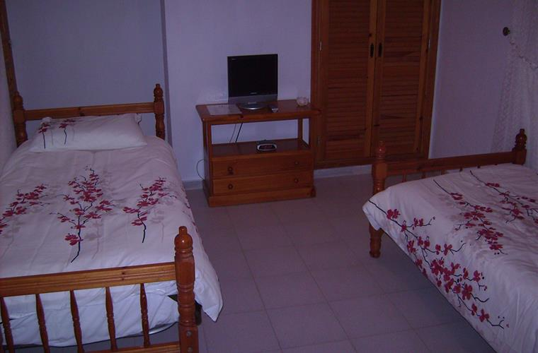 bedroom 2 .with tv