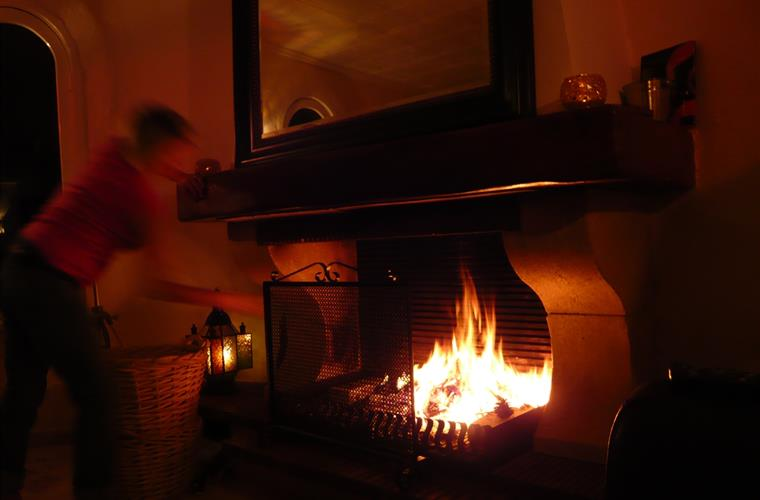 For winter holidays we supply all fire wood.