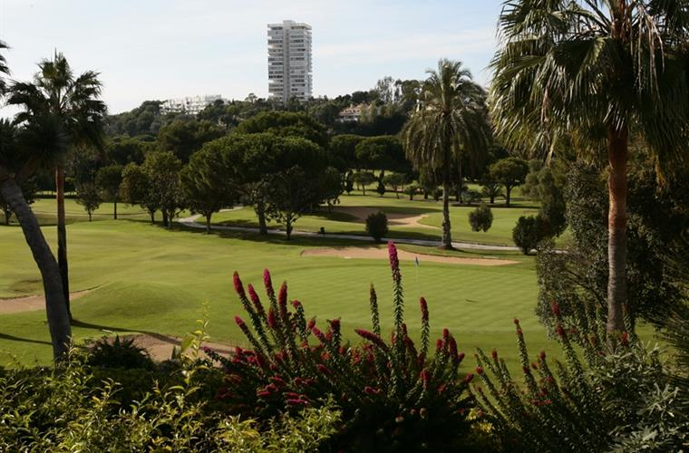 Rio Real Golf, view from community gardens