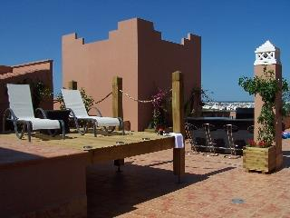 Decking area on terrace