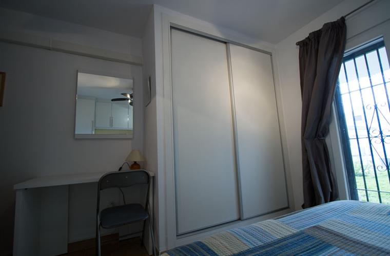 New wardrobes in main bedroom