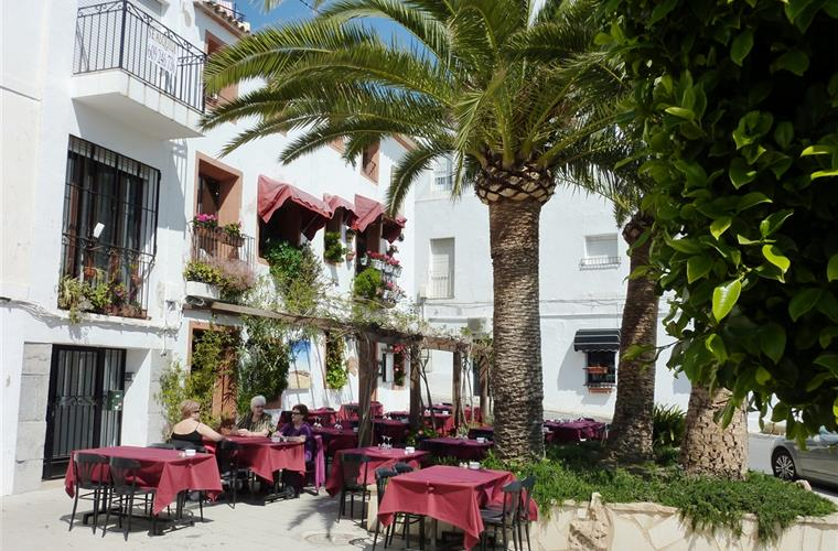 Restaurants at Altea´s paseo