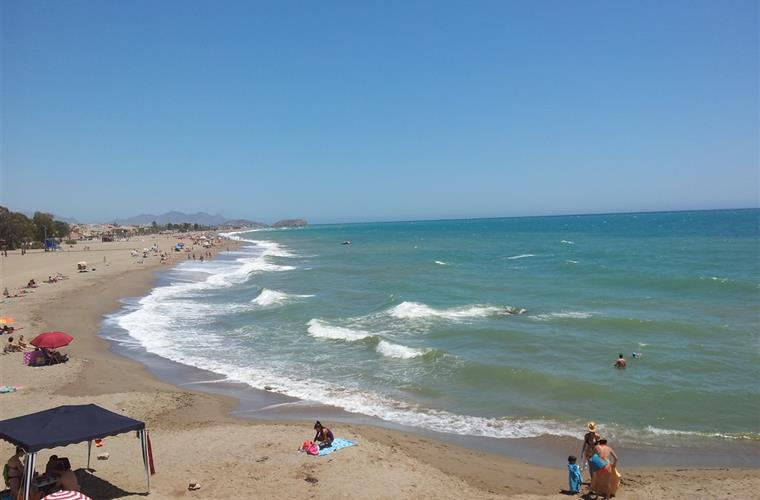Great coastline of Costa Calida near our Casa Mirador.