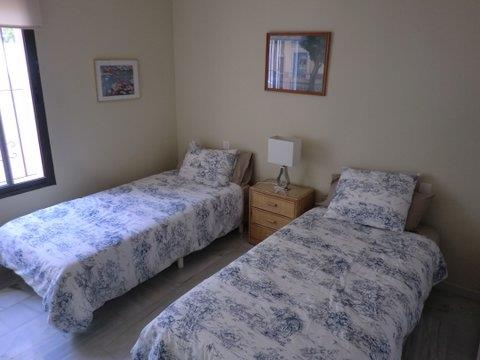 Third bedroom with two beds