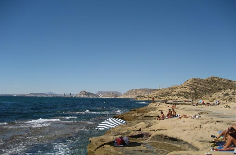 Lovely coastal walks with dramatic views on Alicante bay...