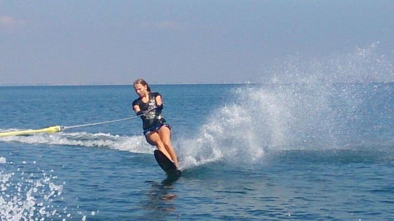 Water Skiing in the Mar Menor