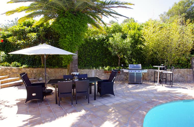 Holiday villa for rent in j vea toscal j vea vacation for Outdoor furniture javea