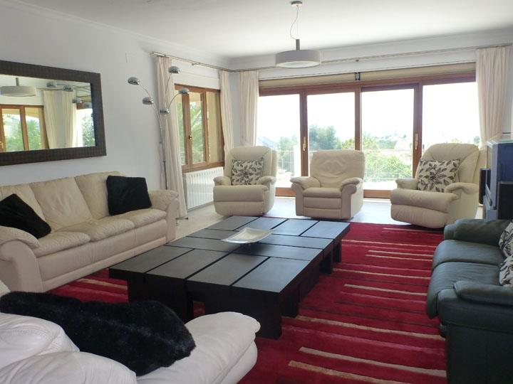 Spacious lounge leading to Balcony/terrace and outstanding view