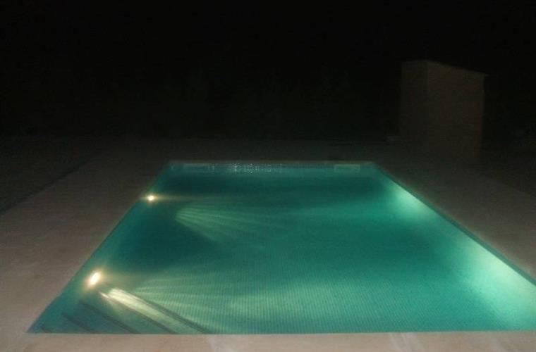 Swimming at night